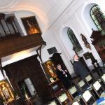 2011-12-03 Aartsbisschop Leonard op bezoek: kerk, Kersbeek