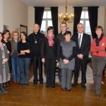 2011-12-03 Aartsbisschop Leonard op bezoek: gesprek catechisten, Glabbeek