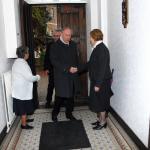 2011-12-03 Aartsbisschop Leonard op bezoek: middagmaal, Kersbeek